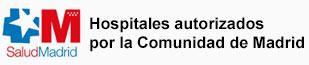 Hospitales autorizados por la Comunidad Autónoma de Madrid