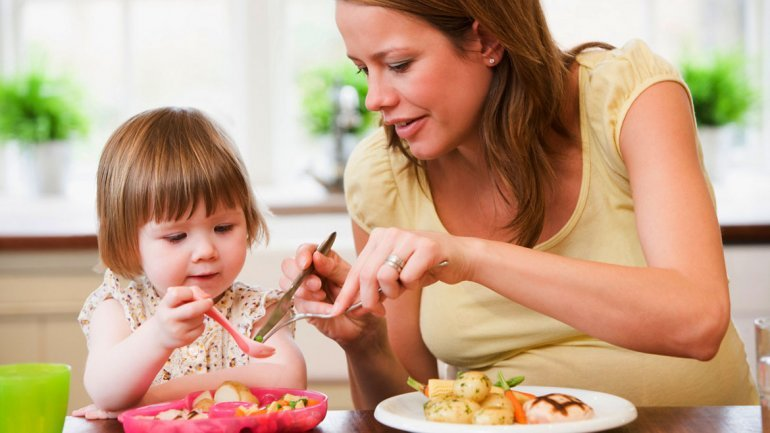Alimentación saludable para mamá