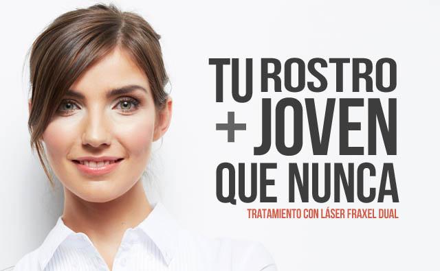 Promoción Láser Fráxel Dual para el rostro
