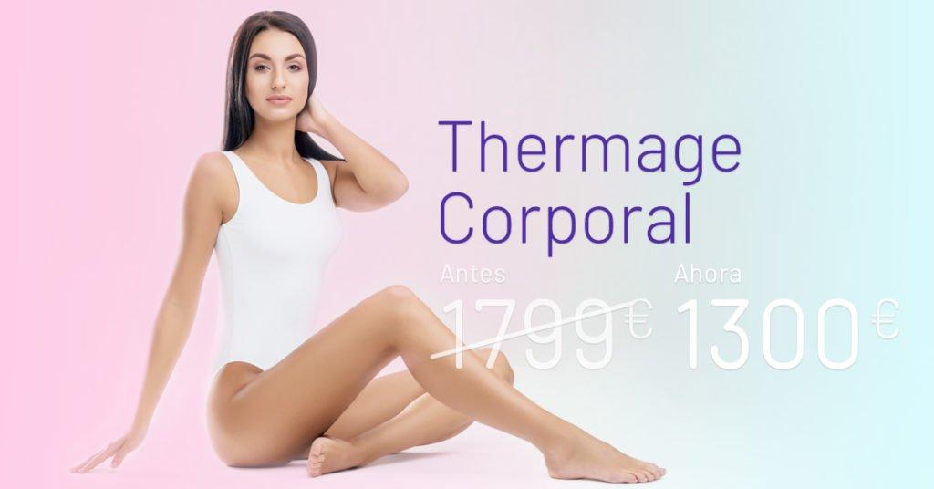 Promoción Thermage Corporal - Clínicas Diego de León