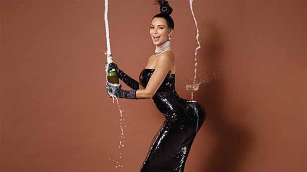 El aumento de glúteos de Kim Kardashian