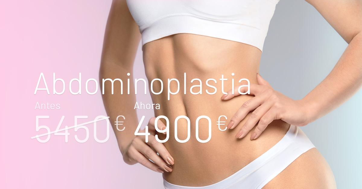 Promoción abdominoplastia - Clínicas Diego de León
