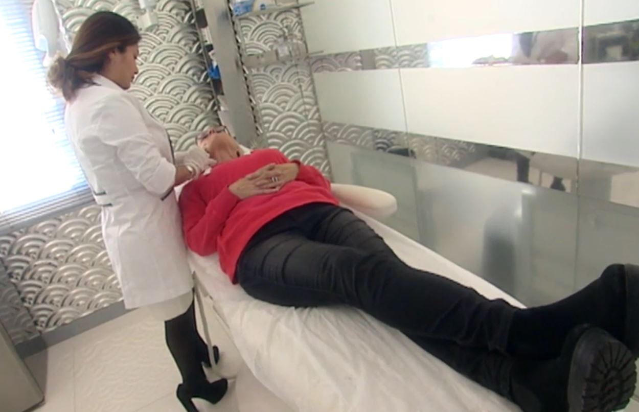 Nuestra paciente de Cámbiame con la Doctora Aracelly