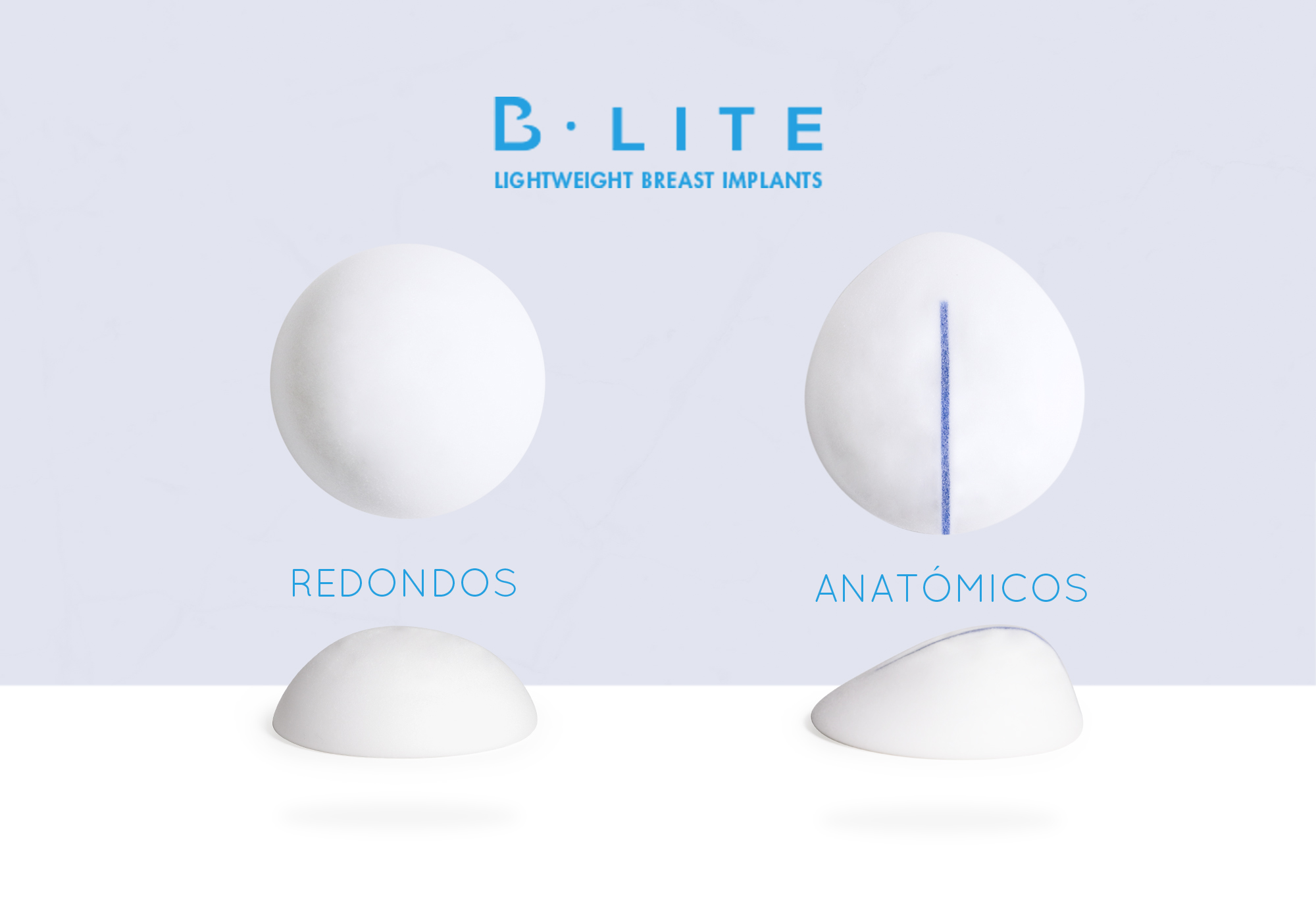 Prótesis ligeras con implantes b-lite