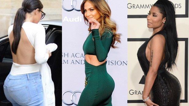 5 Celebrities Operadas de Glúteos