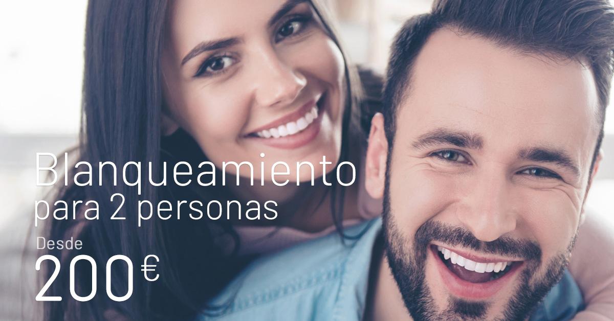 Blanqueamiento dental oferta - Clínicas Diego de León