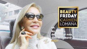 Beauty Friday by Carmen Lomana, el nuevo Black Friday