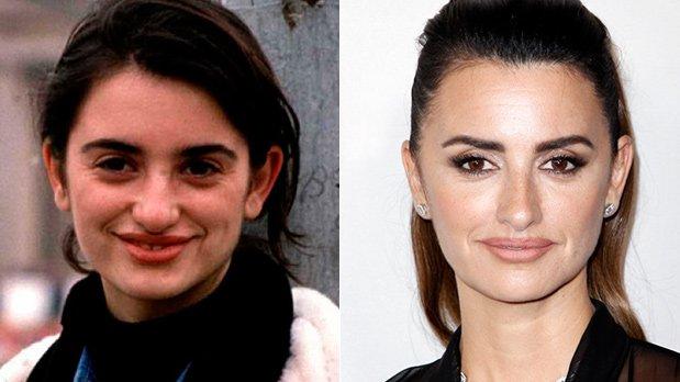 Antes y después Penélope Cruz