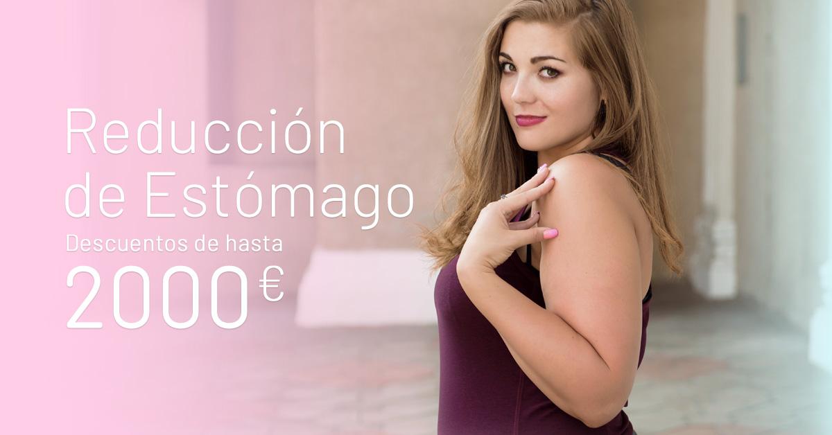 Promoción Reducción de Estómago - Clínicas Diego de León
