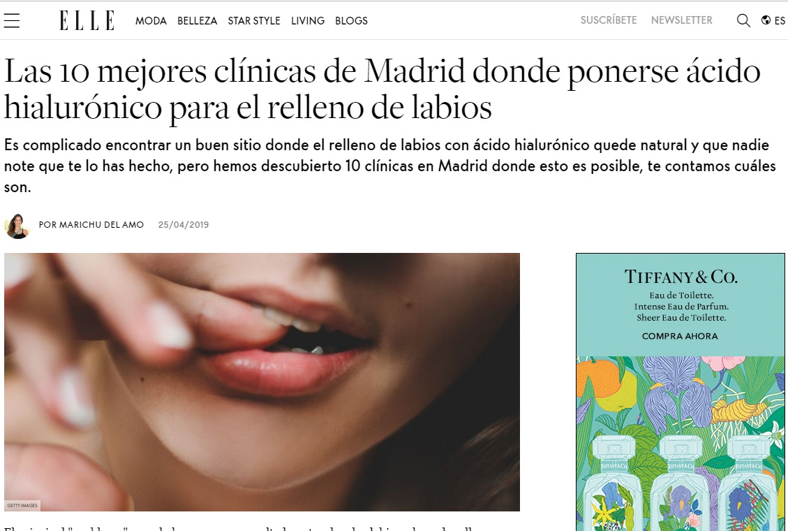 Aumento de labios en Elle - Clínicas Diego de León