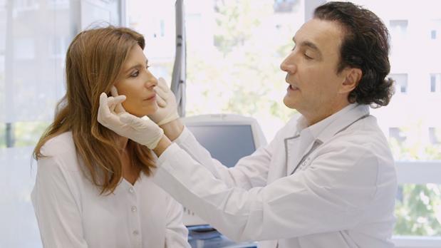 Gema López láser fraxel regeneración facial - Clínica Diego de León